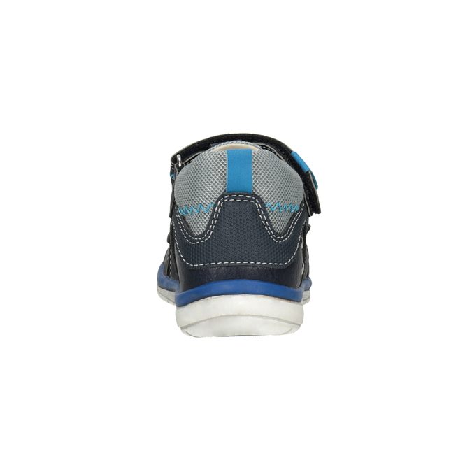 Modré dětské sandály bubblegummers, modrá, 161-9605 - 15