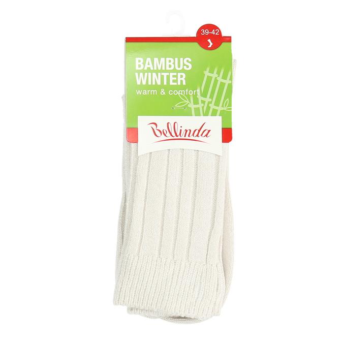 Vysoké ponožky s bambusem bellinda, béžová, 919-8717 - 13