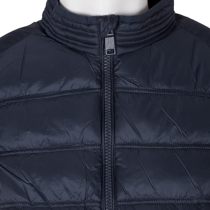 Pánská tmavě modrá vesta bata, modrá, 979-9113 - 16
