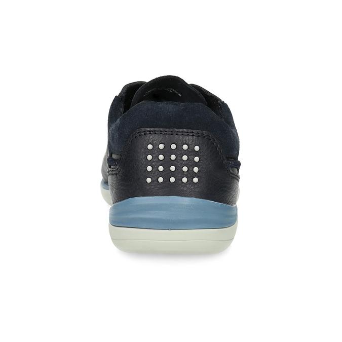 Pánské kožené tenisky modré tbs-, modrá, 826-3053 - 15