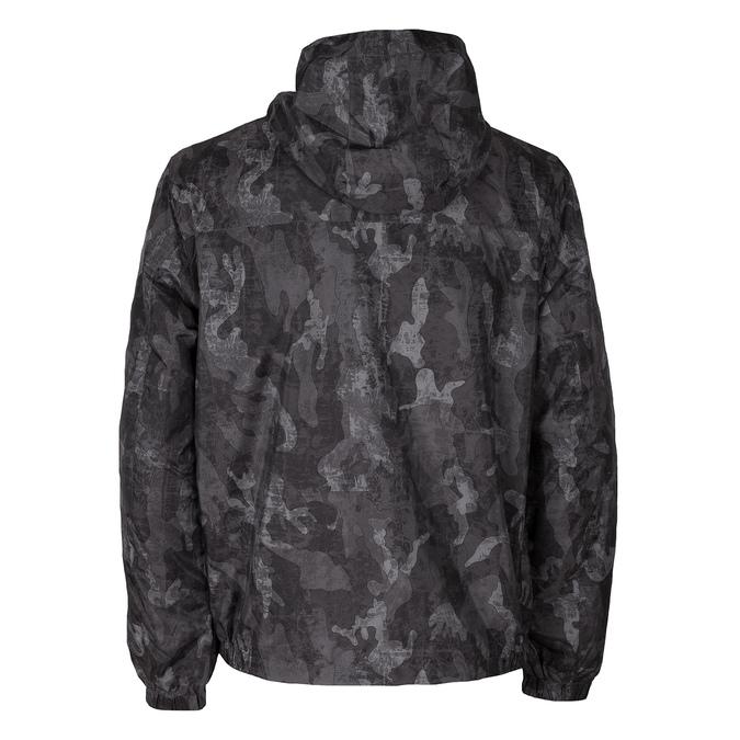 Pánská šedá bunda s maskáčovým vzorem bata, šedá, 979-2127 - 26