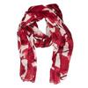 Dámské šátky s rudými květy bata, vícebarevné, 909-0243 - 26