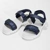 Sandály se strukturovanou podešví modré mini-b, modrá, 361-9613 - 16