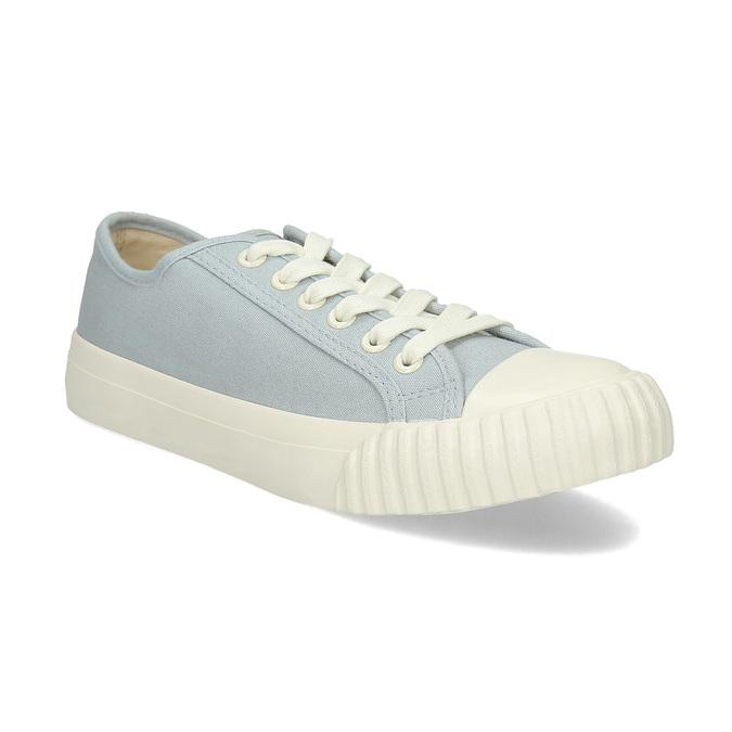 Světle modré dámské tenisky bata-bullets, modrá, 589-2333 - 13