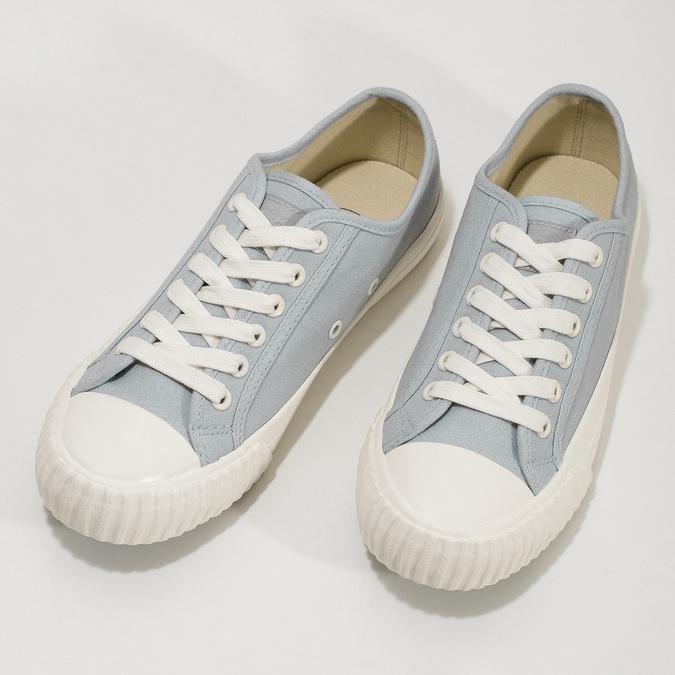 Světle modré dámské tenisky bata-bullets, modrá, 589-2333 - 16