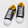 Černé tenisky se žlutými detaily bata-hotshot, černá, 889-8245 - 16
