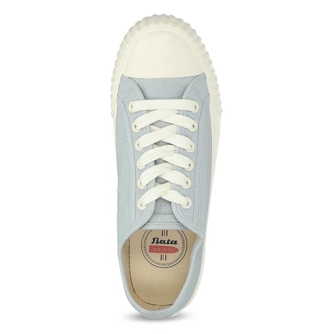 Světle modré dámské tenisky bata-bullets, modrá, 589-2333 - 17