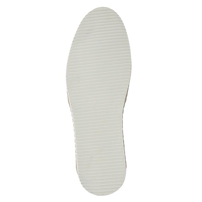 Pánské Slip-on z broušené kůže bata, béžová, 833-8602 - 17