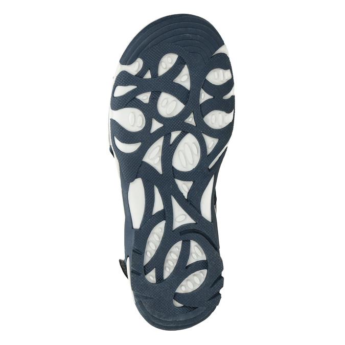 Chlapecké sandály ve sportovním stylu šedé mini-b, šedá, 461-2607 - 19