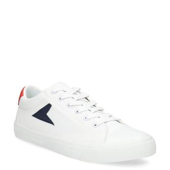 Bílé tenisky pánské bata-hotshot, bílá, 889-1245 - 13