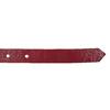Červený kožený opasek dámský bata, červená, 954-5203 - 16