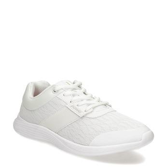 Bílé dámské tenisky sportovního střihu power, bílá, 509-1855 - 13