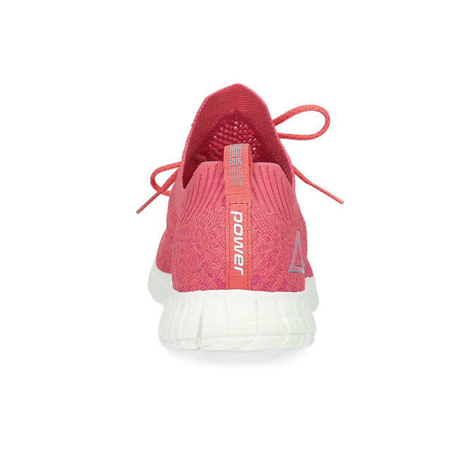 Dámské růžové úpletové tenisky power, růžová, 509-5211 - 15