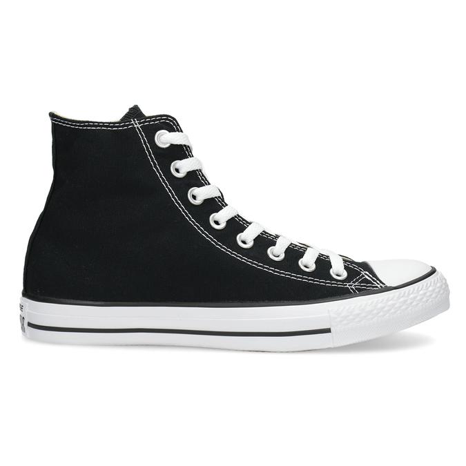 Dámské kotníčkové tenisky s gumovou špicí converse, černá, 589-6278 - 19