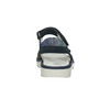 Dívčí kožené sandály s kamínky modré mini-b, modrá, 463-9603 - 15