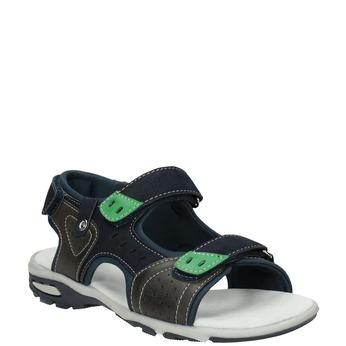 Chlapecké sandály ve sportovním stylu mini-b, modrá, 461-9607 - 13