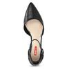 Lodičky na nízkém podpatku černé bata-red-label, černá, 621-6607 - 17