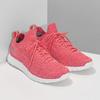 Dámské růžové úpletové tenisky power, růžová, 509-5211 - 26