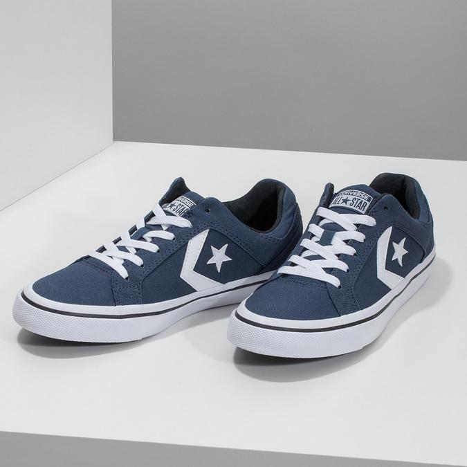 Modré pánské tenisky converse, modrá, 889-9259 - 16