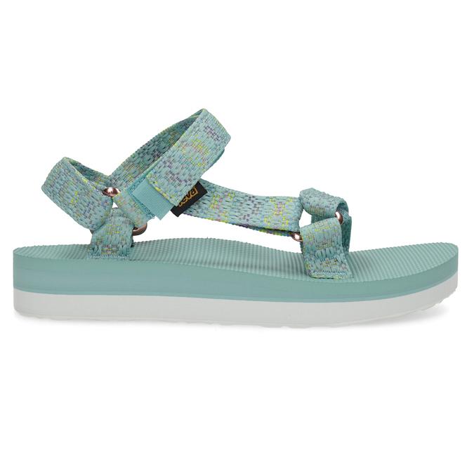 Dámské sandály v Outdoor stylu teva, tyrkysová, 569-7533 - 19