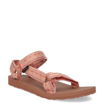 Růžové sandály v Outdoor stylu teva, růžová, 569-5535 - 13