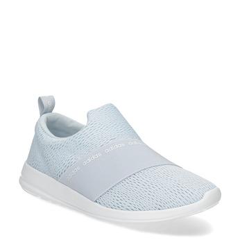 Světle modré Slip-on tenisky adidas, modrá, 509-2565 - 13