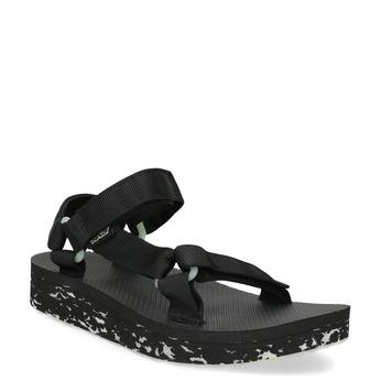 Dámské sandály v Outdoor stylu teva, černá, 569-6533 - 13