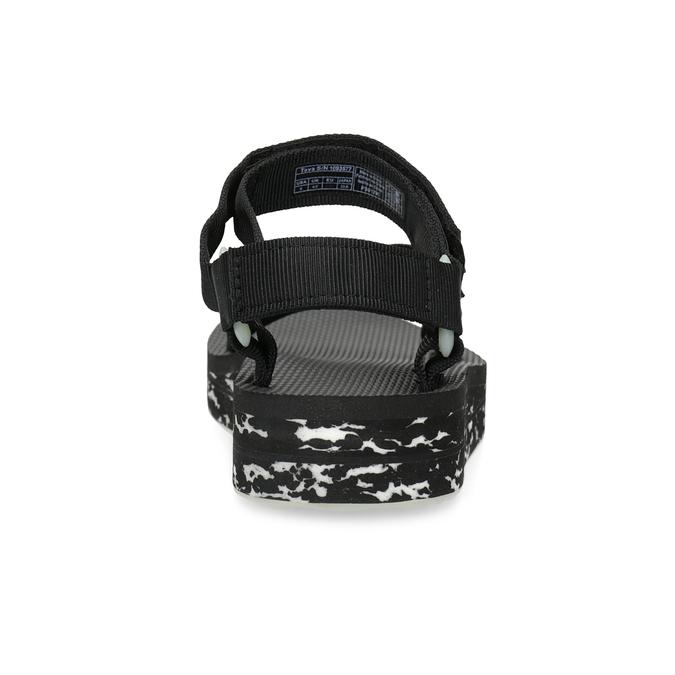 Dámské sandály v Outdoor stylu teva, černá, 569-6533 - 15