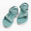 Dámské sandály v Outdoor stylu teva, tyrkysová, 569-7533 - 16