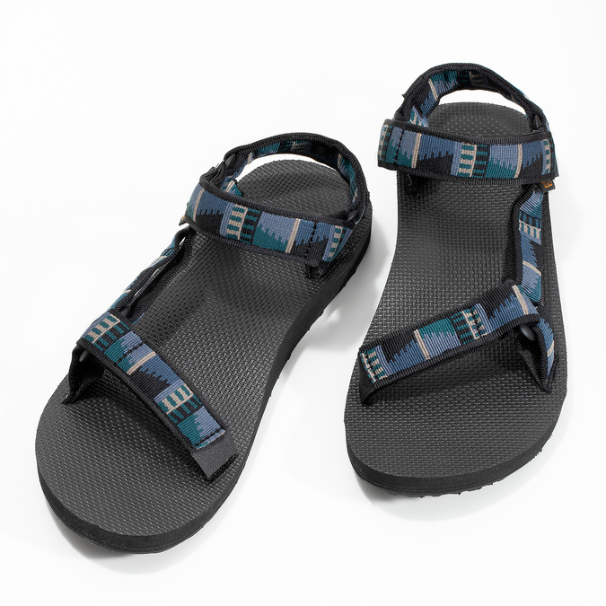 Pánské Outdoor sandály teva, modrá, 869-9241 - 16
