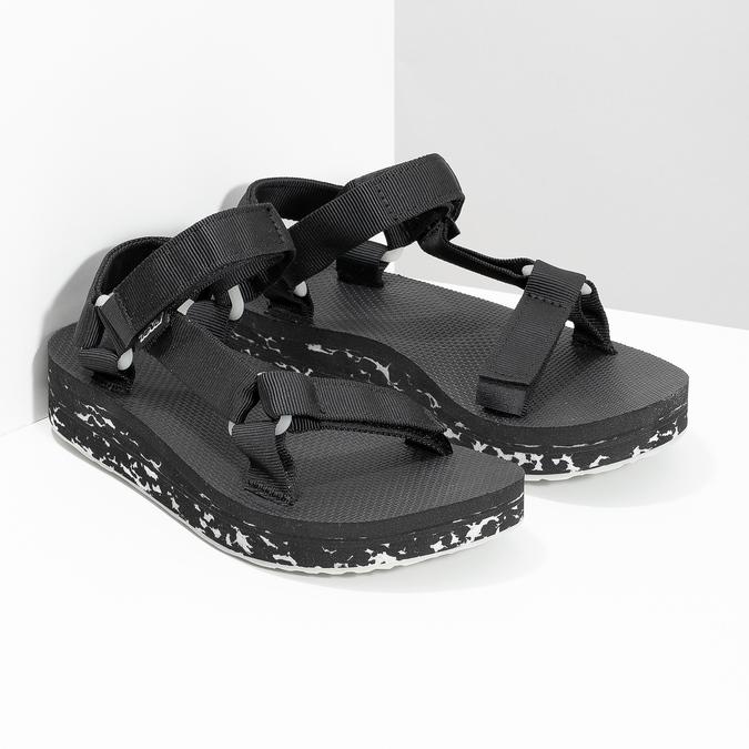 Dámské sandály v Outdoor stylu teva, černá, 569-6533 - 26