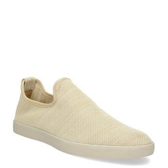 Béžové pánské Slip-on boty bata-red-label, béžová, 839-8601 - 13