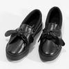 Černá dámská Slip-on obuv s mašlí north-star, černá, 511-6606 - 16