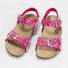 Dívčí korkové sandály růžové mini-b, růžová, 261-5209 - 16