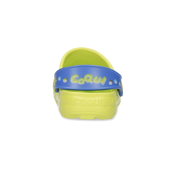 Dětské sandály s žabkou coqui, zelená, 272-7650 - 15