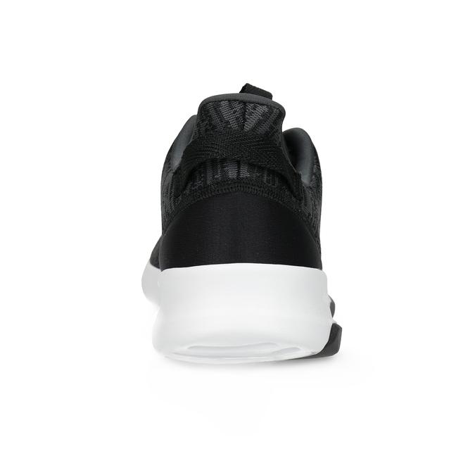 Pánské tenisky s melírovaným designem adidas, černá, 809-6301 - 15