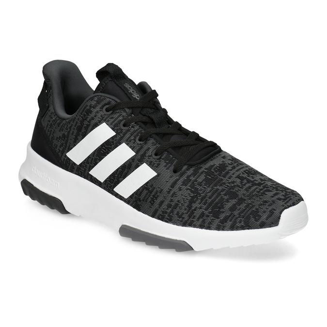 Pánské tenisky s melírovaným designem adidas, černá, 809-6301 - 13