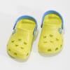 Dětské sandály s žabkou coqui, zelená, 272-7650 - 16