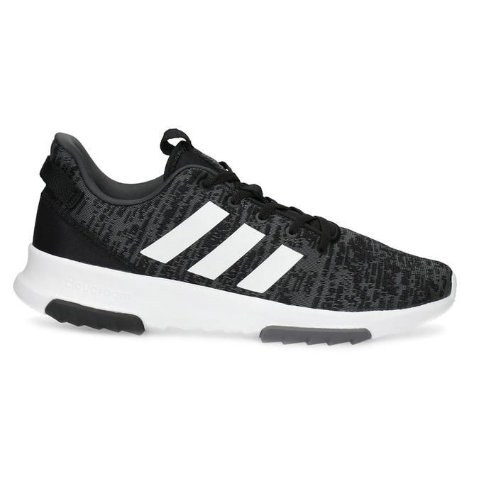 Pánské tenisky s melírovaným designem adidas, černá, 809-6301 - 19