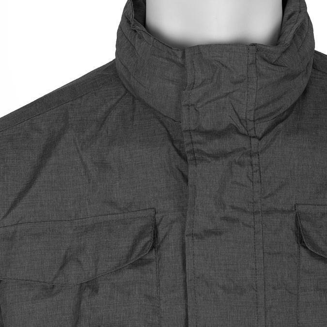 Pánská textilní bunda šedá bata, šedá, 979-2137 - 16