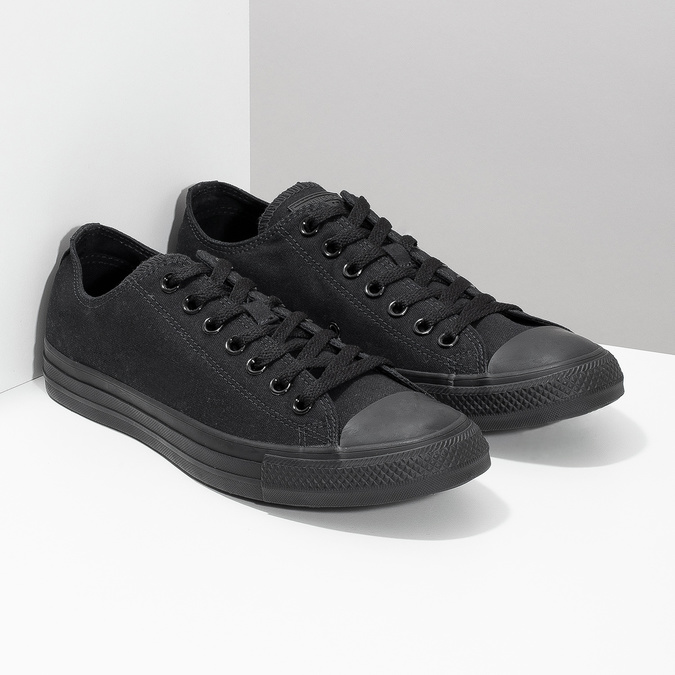 Černé textilní tenisky pánské converse, černá, 889-6279 - 26