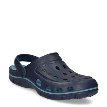 Modré dětské sandály typu Clogs coqui, modrá, 372-9656 - 13