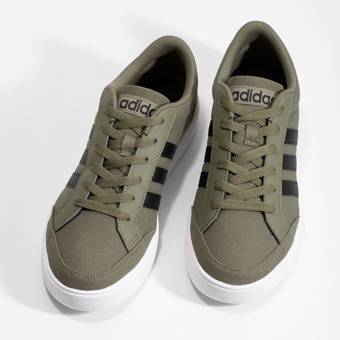 Pánské khaki tenisky adidas, khaki, 889-7235 - 16