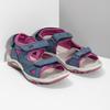 Dívčí sandály v Outdoor stylu weinbrenner, modrá, 466-9606 - 26