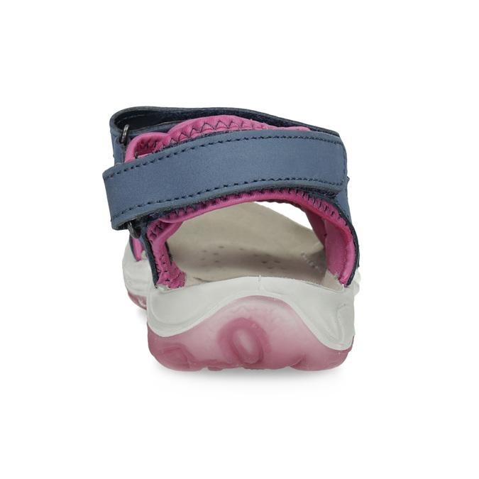 Dívčí sandály v Outdoor stylu weinbrenner, modrá, 466-9606 - 15