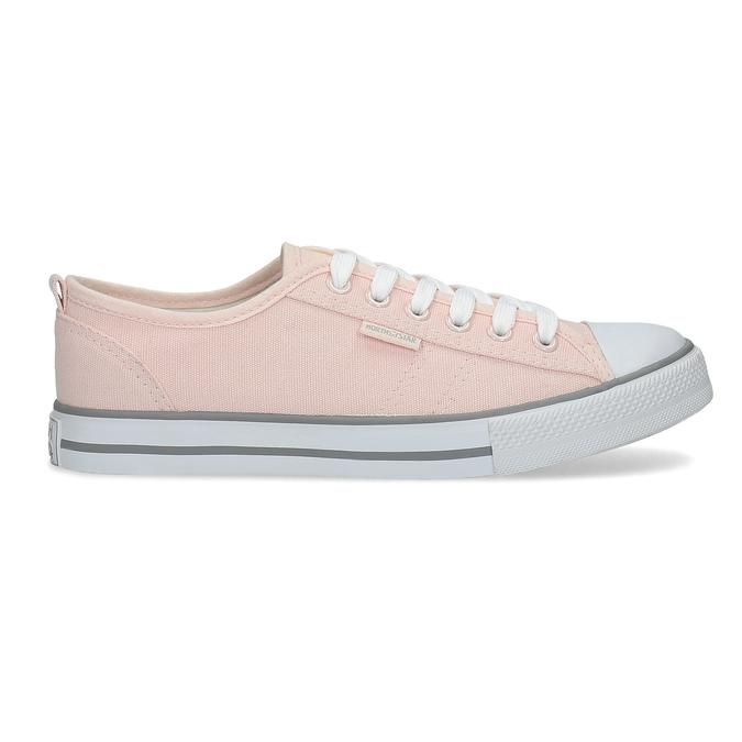 Světle růžové ležérní tenisky north-star, růžová, 589-5443 - 19