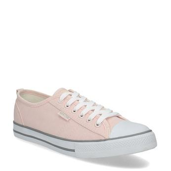 Světle růžové ležérní tenisky north-star, růžová, 589-5443 - 13