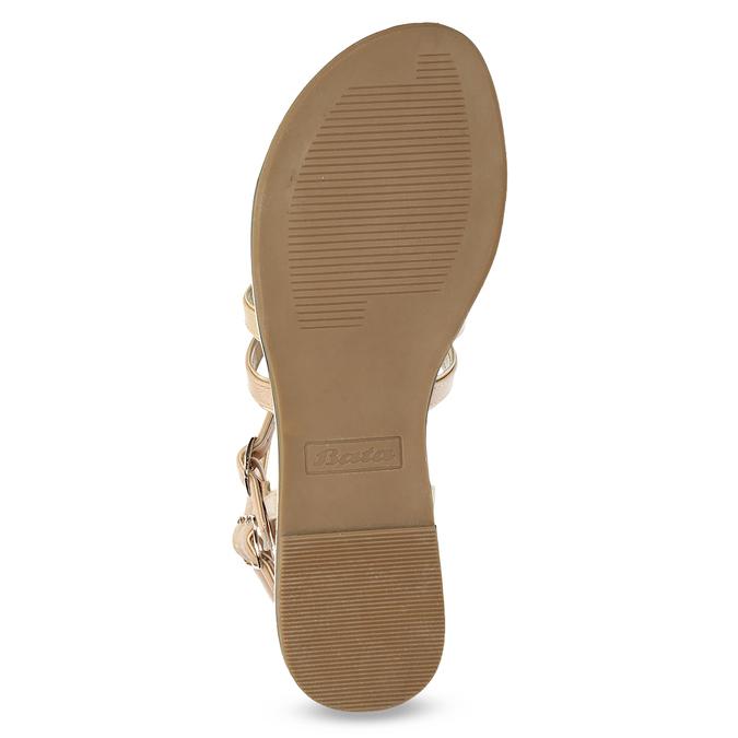 Béžové dámské sandály Gladiátorky bata, 561-8620 - 18
