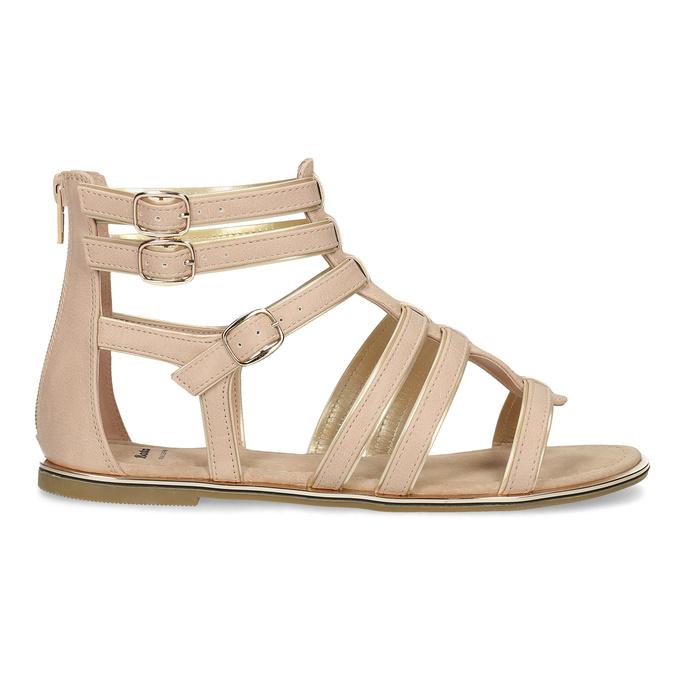 Béžové dámské sandály Gladiátorky bata, 561-8620 - 19