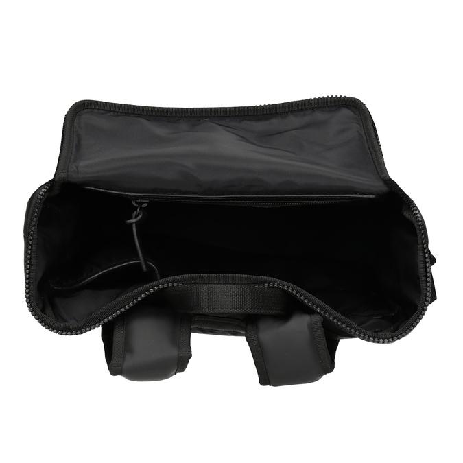 Minimalistický černý batoh vagabond, černá, 961-6049 - 15